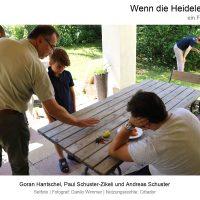 """Andreas Schuster in """"Wenn die Heidelerche singt"""", Film von Ana Bilic, Fotograf: Danilo Wimmer, Nutzungsrechte: Cittador"""