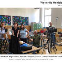 """Bianca Hantschel in """"Wenn die Heidelerche singt"""", Film von Ana Bilic, Fotografin: Naida Jusufhodzic-Grbic, Nutzungsrechte: Cittador"""
