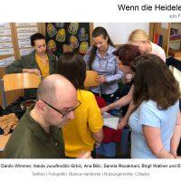"""Bianca Hantschel mit dem Rest der Crew in """"Wenn die Heidelerche singt"""", Film von Ana Bilic, Fotografin: Bianca Hantschel, Nutzungsrechte: Cittador"""