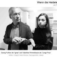"""Nutzungsrechteinhaber: Cittador, Georg Furtner Setfoto Probe in """"Wenn die Heidelerche singt"""", Film von Ana Bilic, Fotograf: Danilo Wimmer"""