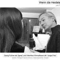 """Nutzungsrechte © Cittador, Georg Furtner Setfoto Probe in """"Wenn die Heidelerche singt"""", Film von Ana Bilic, Fotograf: Danilo Wimmer"""
