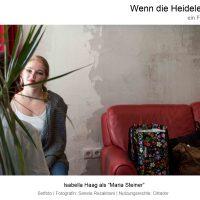 """Nutzungsrechteinhaber: Cittador, Isabella Haag in """"Wenn die Heidelerche singt"""", Film von Ana Bilic, Fotografin: Sanela Rezakhani"""